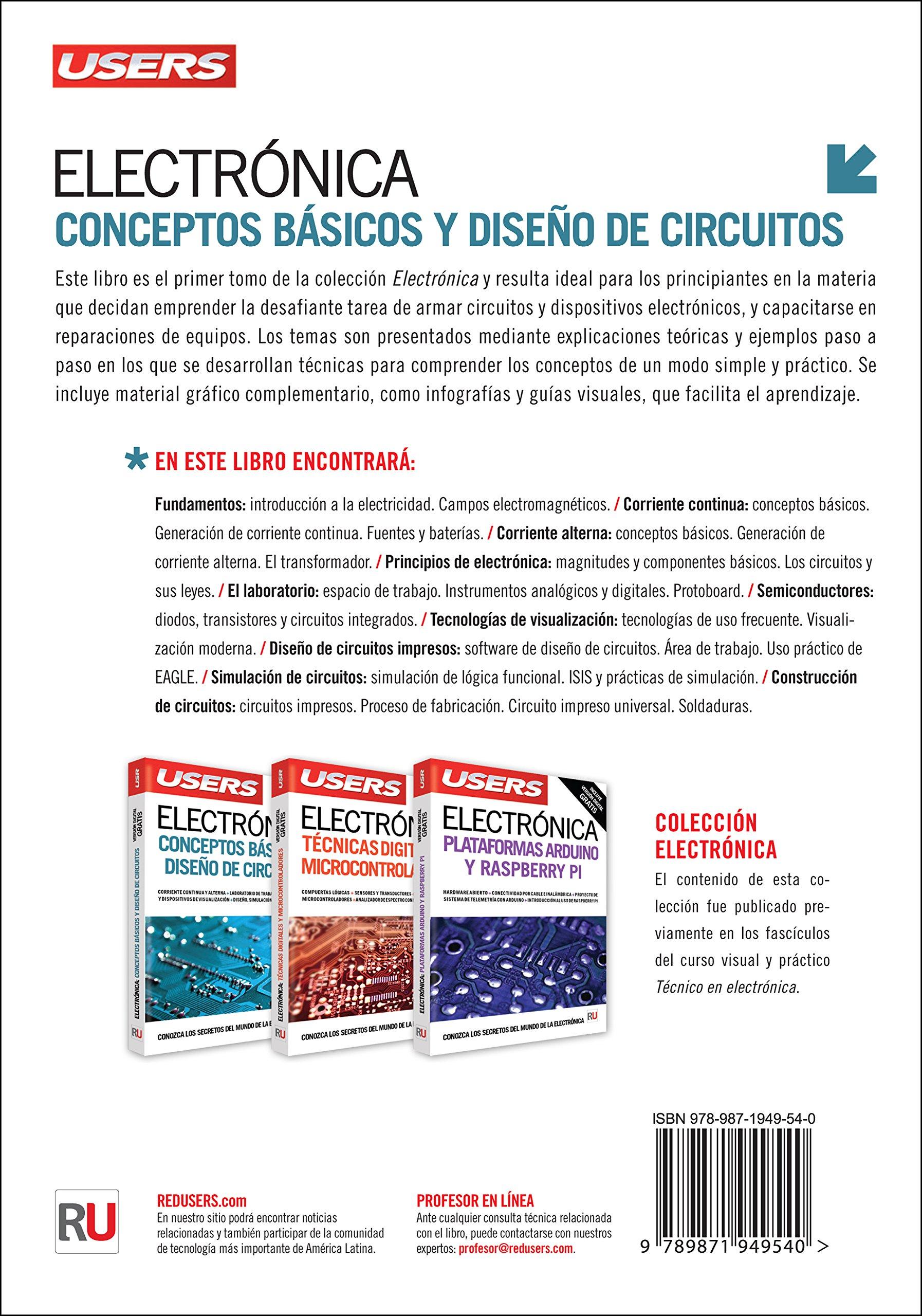 Circuito Basico : Electrónica: conceptos básicos y diseño de circuitos spanish