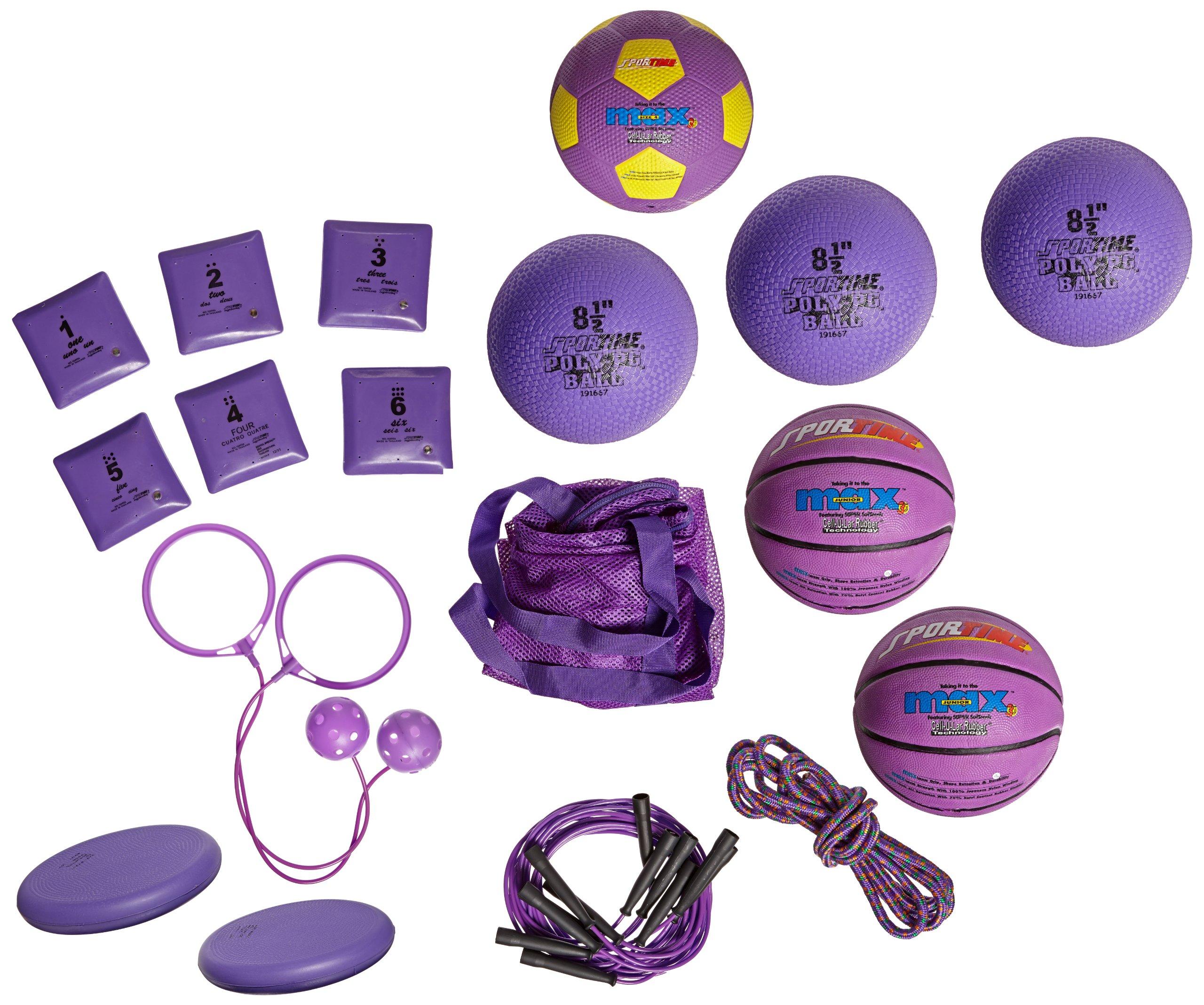 Sportime Kindergarten Recess Pack, Violet