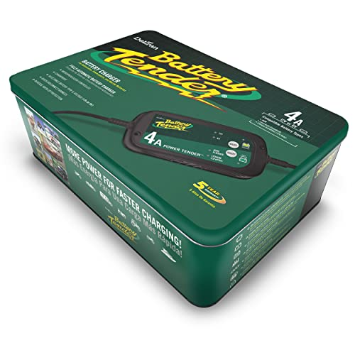 Battery Tender 022-0209-DL-WH is one of the best lithium battery chargers