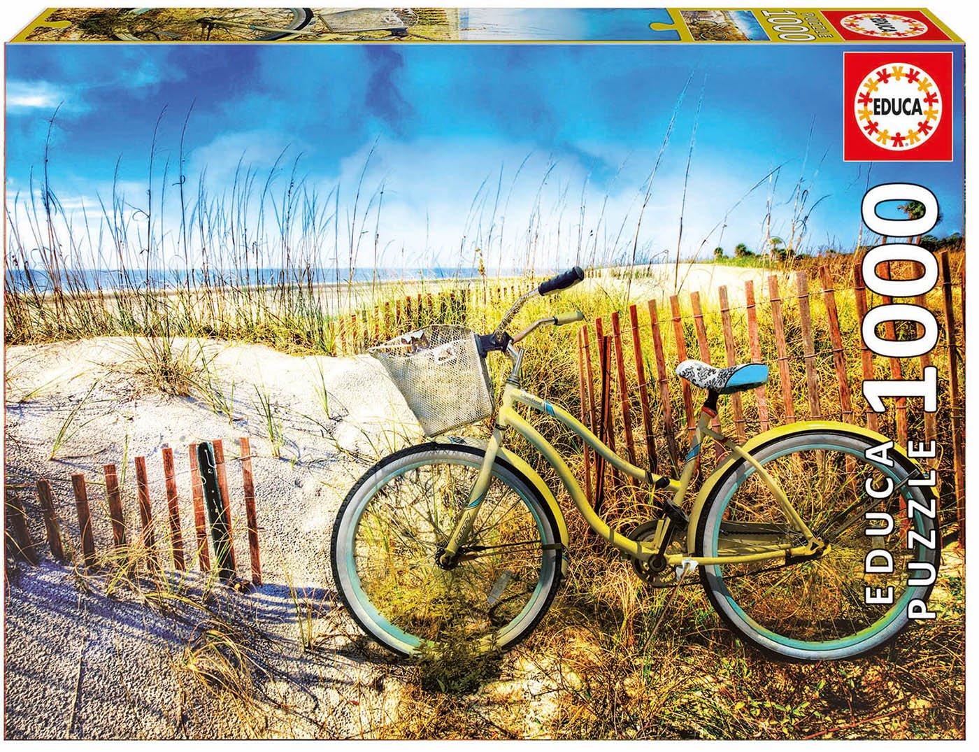 Educa Borrás Puzzle 1000 Bicicleta en Las Dunas (17657)