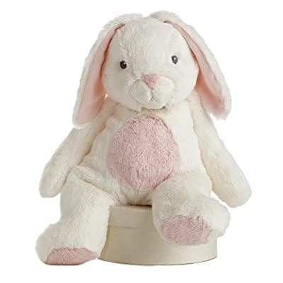 "Aurora World Quizzies 16"" Bun Bun Bunny Stuffed Bunny (Pink): Toys & Games"
