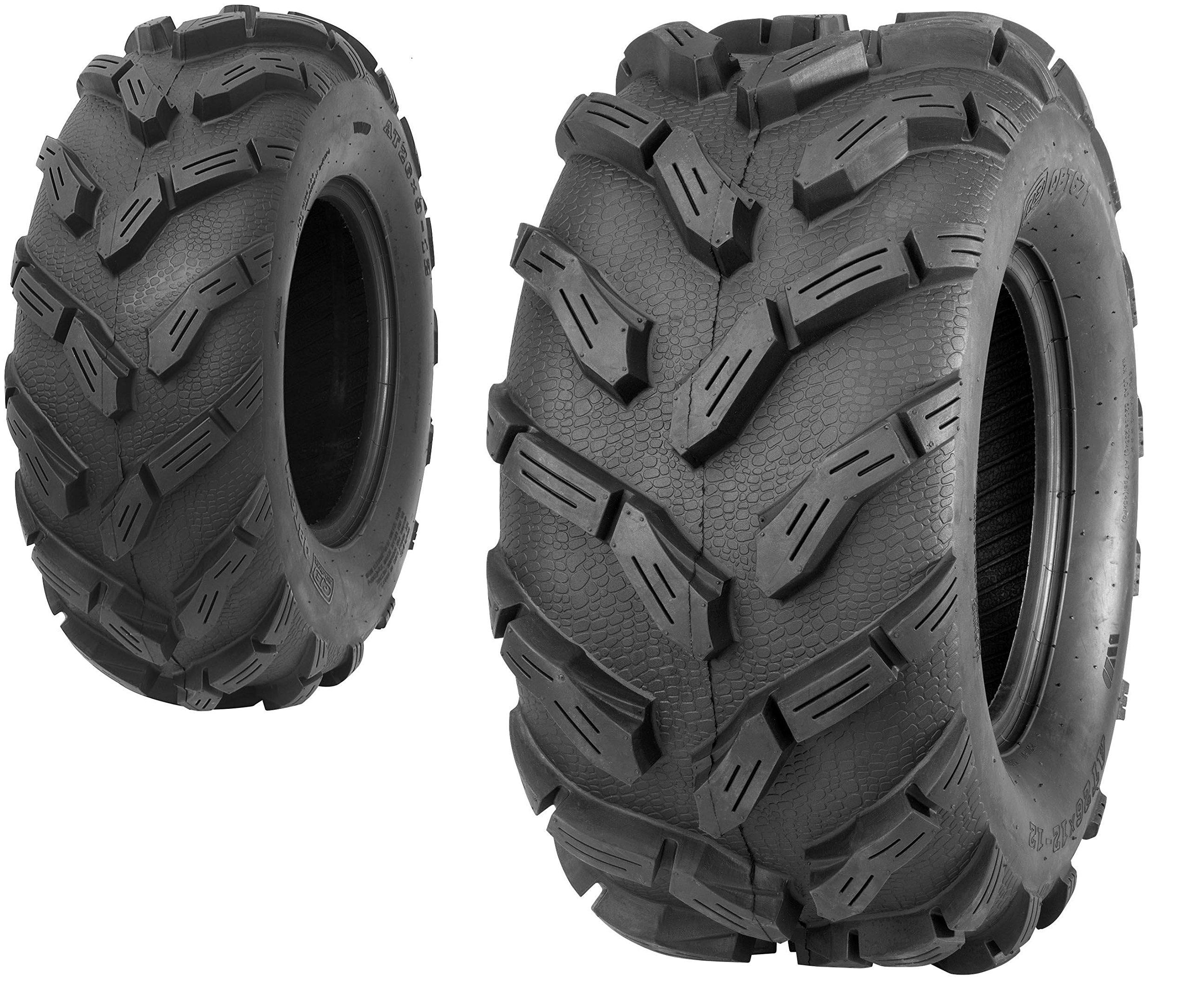 Quadboss QBT671 26x9-12 6-Ply Front Tire P3011-26X9-12