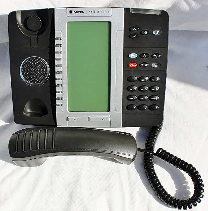 Mitel  5330e VOIP Dual Mode Backlit LCD Display VOIP IP POE Telephone  50006476