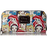 Loungefly Disney Princesses Classic Print Pebble Wallet