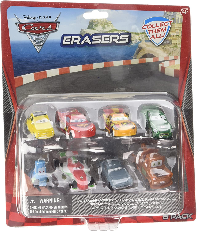 Cars Pack 8 Gomas: Amazon.es: Juguetes y juegos