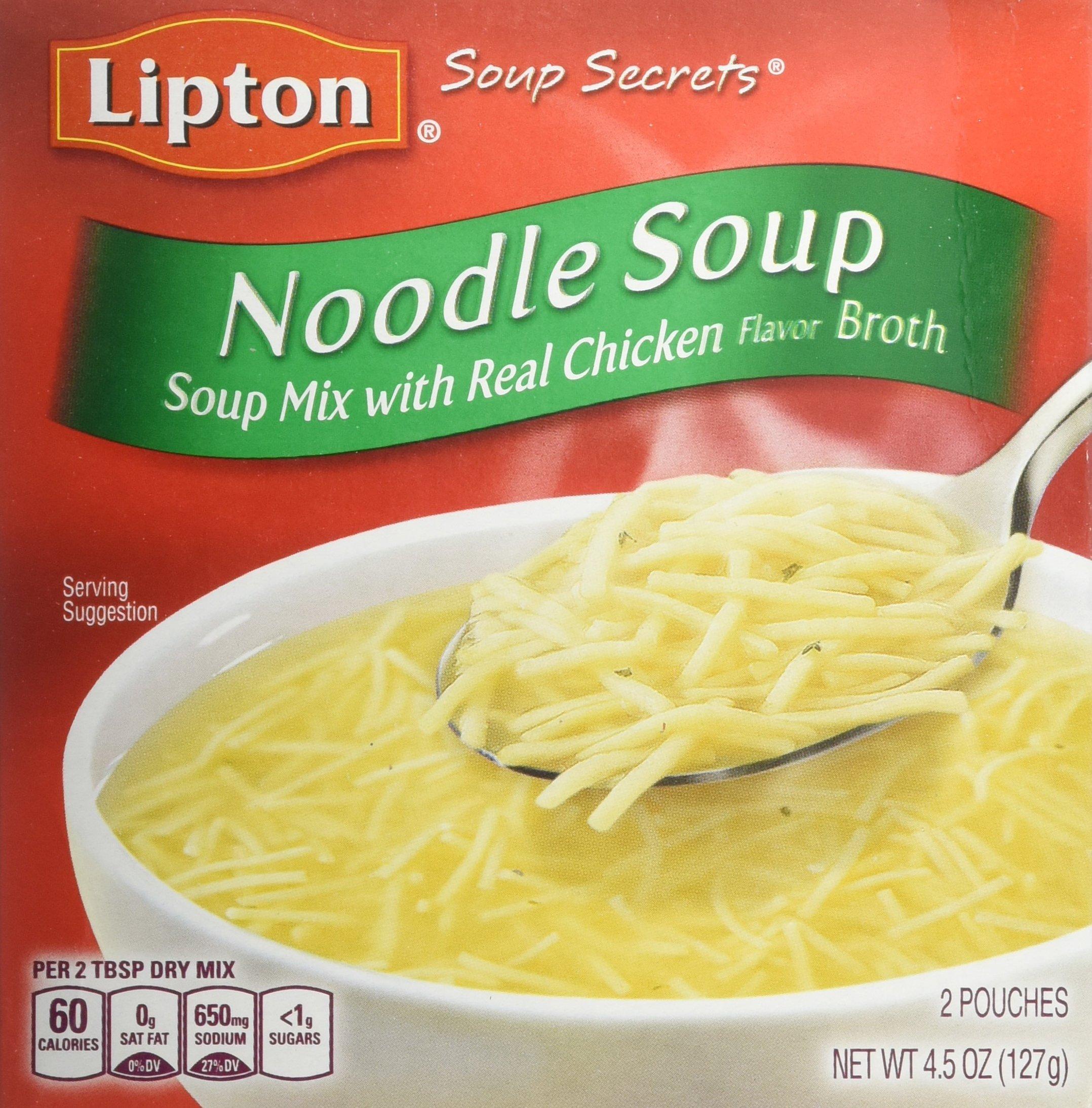 Amazon.com : Lipton Soup Secrets Instant Soup Mix, Ring-O