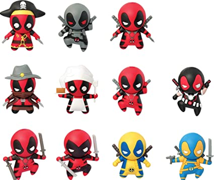 Marvel Deadpool Series 1 Collectible Blind Bag Key Chains