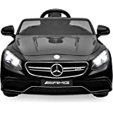 Best Choice Products Ride On Car Kids W/ MP3 Electric Battery Power Parent Remote Control RC Mercedes S63 (Black)