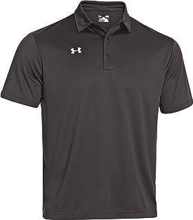 Under Armour pour homme Team Podium Polo de golf sur le dessus, couleurs assorties, 1276227 petit bleu roi/blanc