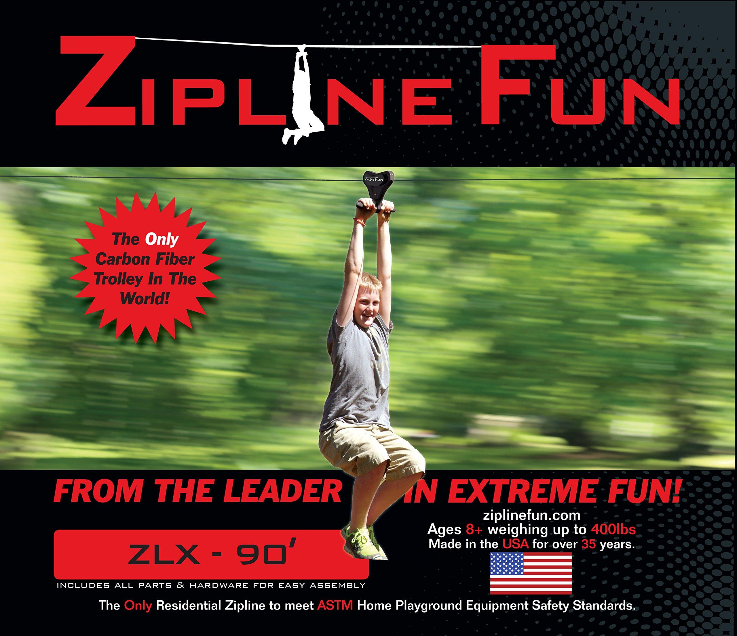 Adventure Parks ZLX Xtreme Zip Line 90' by Adventure Parks (Image #1)