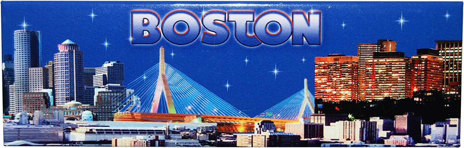 American Cities and States of Magnets (Boston Skyline)