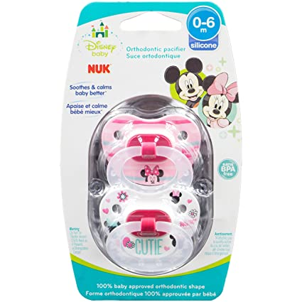 NUK Disney Baby Minnie Mouse Puller Pacifier in Assorted ...