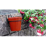 "PLANT POT HOLDERS TO HANG PLANTS ON WALLS. PACK OF 6 FOR 6"" FLOWER POTS. Ideal for big dreams,small spaces !"