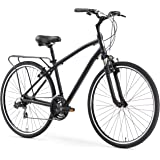 sixthreezero Body Ease Men's 21-Speed Comfort Road Bicycle, Matte Black