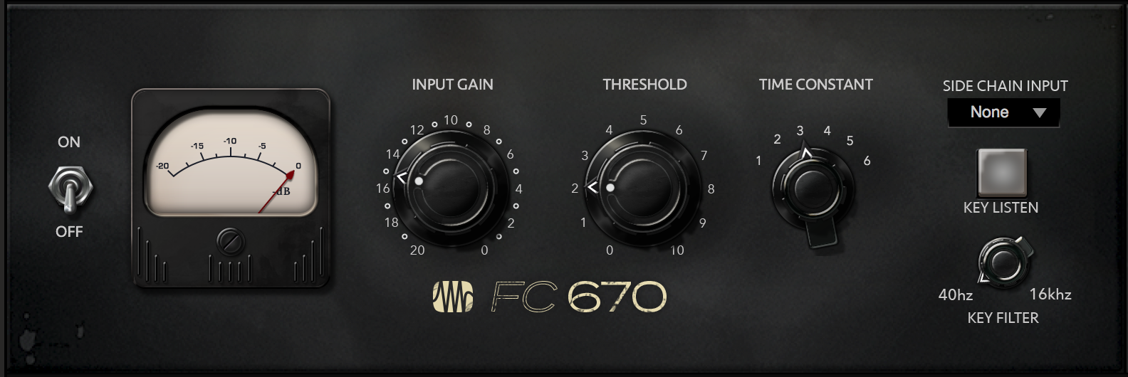 (PreSonus FC-670 Compressor Fat Channel Plug-in [Online Code])