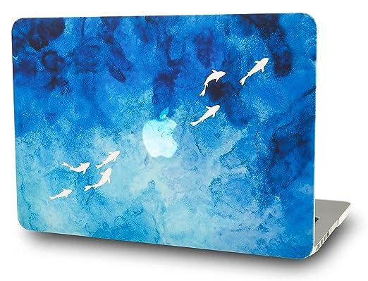 273 opinioni per STARSTRUCK- Custodia Rigida MacBook Air 13 Pollici- A1369 / A1466- Blu Pesce