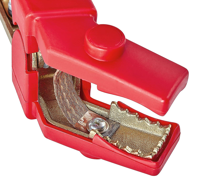 IWH 075637 Starthilfekabel Alu Kupfer 40mm/² Rot