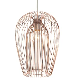 Superb Industrial Modern Copper Wire Ceiling Pendant Light Lamp Shade Wiring 101 Archstreekradiomeanderfmnl