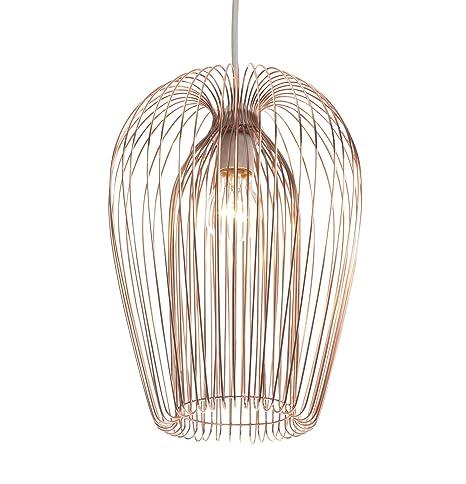 Astounding Copper Wire Hanging Ceiling Light Pendant Amazon Co Uk Lighting Wiring 101 Olytiaxxcnl