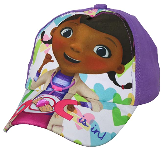 Image Unavailable. Image not available for. Colour  Disney Doc McStuffins  Girls Purple Baseball Cap ... 3e972dd9c2db