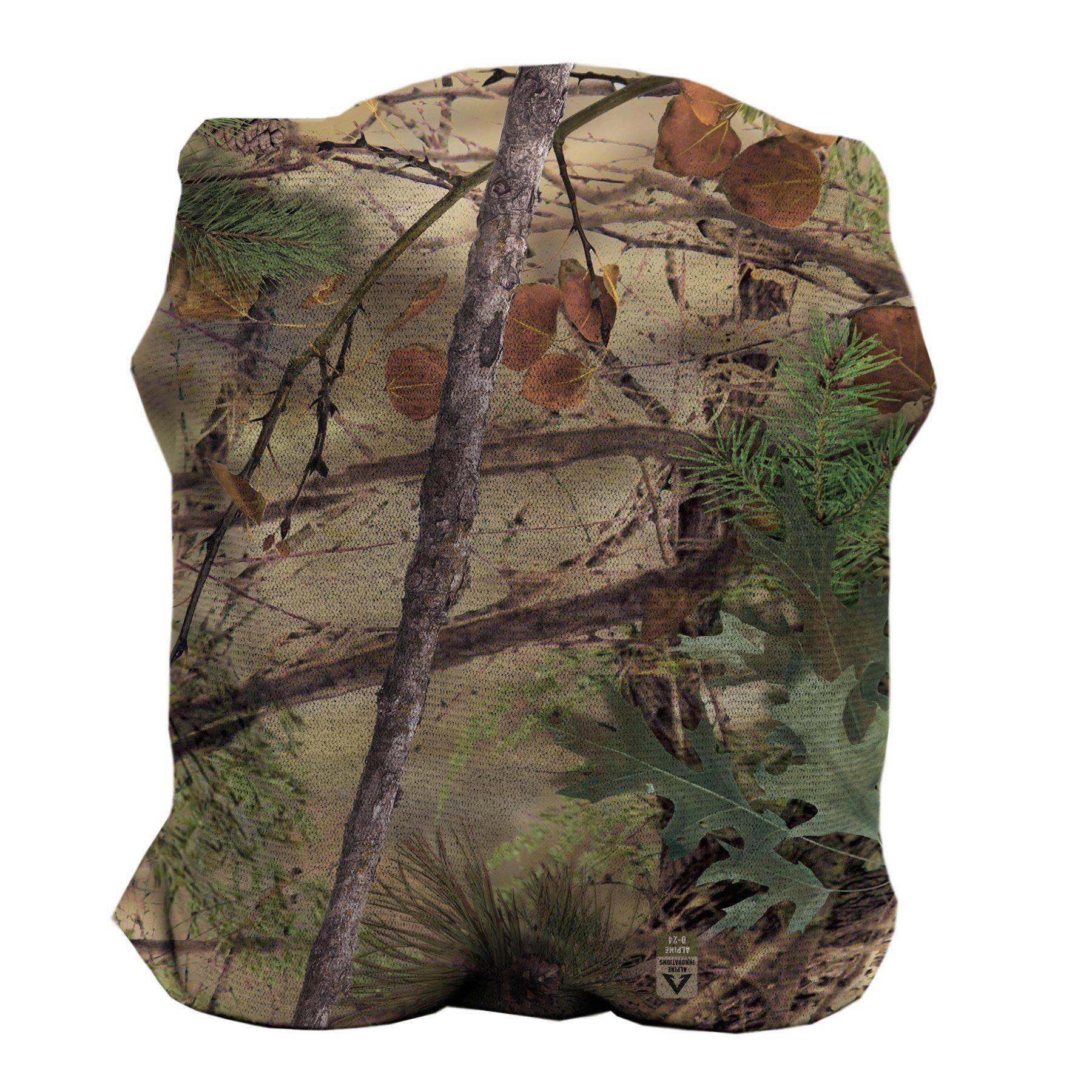 Slicker Bino Cover, Bino Case, Binocular Holder, Camo Hiking and Hunting Gear and Accessories, Included Microfiber Cleaning Cloth, Bino Alpine Innovations
