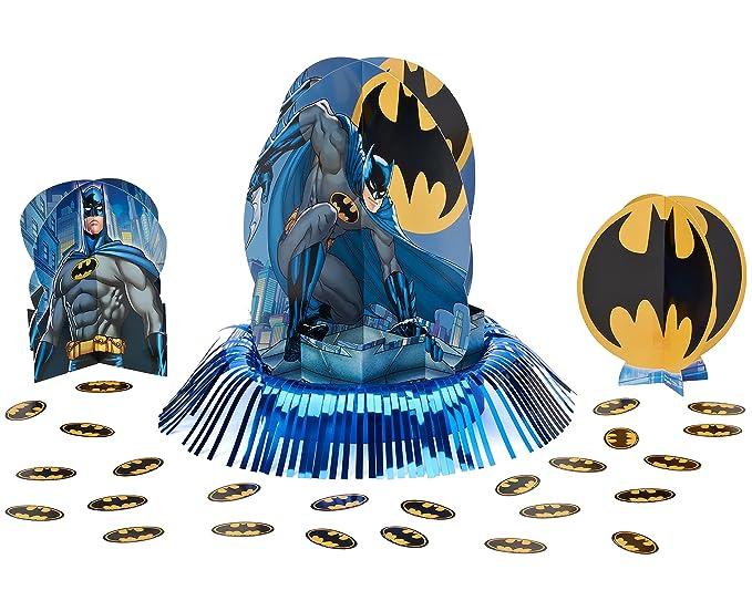 Amazon Com Batman Table Decorating Kit Party Favor Kitchen Dining