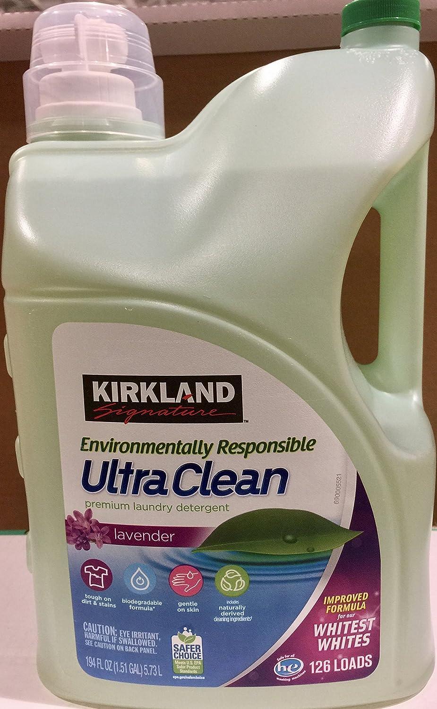 4位.カークランドシグネチャー エコフレンドリー 液体洗濯洗剤