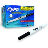 EXPO Low-Odor Dry Erase Markers, Ultra Fine Tip, Assorted Colors, 36-Count