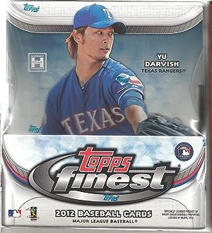 2012 Topps Finest Baseball Sealed Box Of 12 Packs 2 Autos Per Master Box