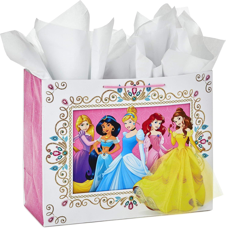 4 Disney Christmas Princesses Gift Boxes Wrap Cinderella