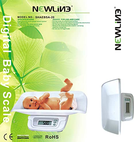 amazon com newline digital weight track baby scales white pet