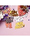 Alandra Party- Confeti de despedida de soltera, Color negro, 14 g (Alandra Products Ltd. CONFETTI-HEN)