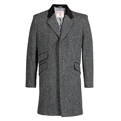 The Scotland Kilt Company Neue Luxus Echte Herren Harris Tweed Jacke -  Cromby - Laxdale - Größe Wählen  Amazon.de  Bekleidung f822e19970