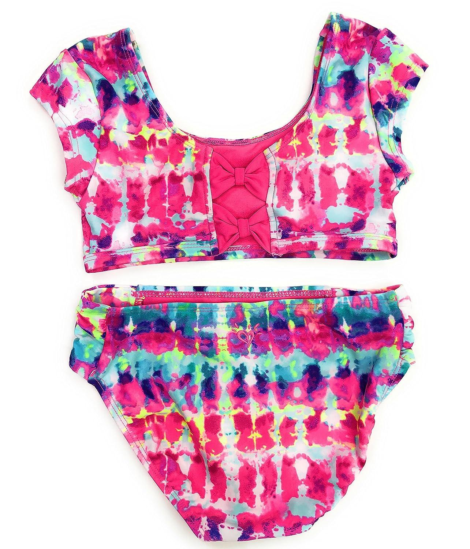 4b80bd636d Amazon.com: Justice Girls Bikini Bathing Suit Swimsuit Multiple Styles &  Sizes: Clothing