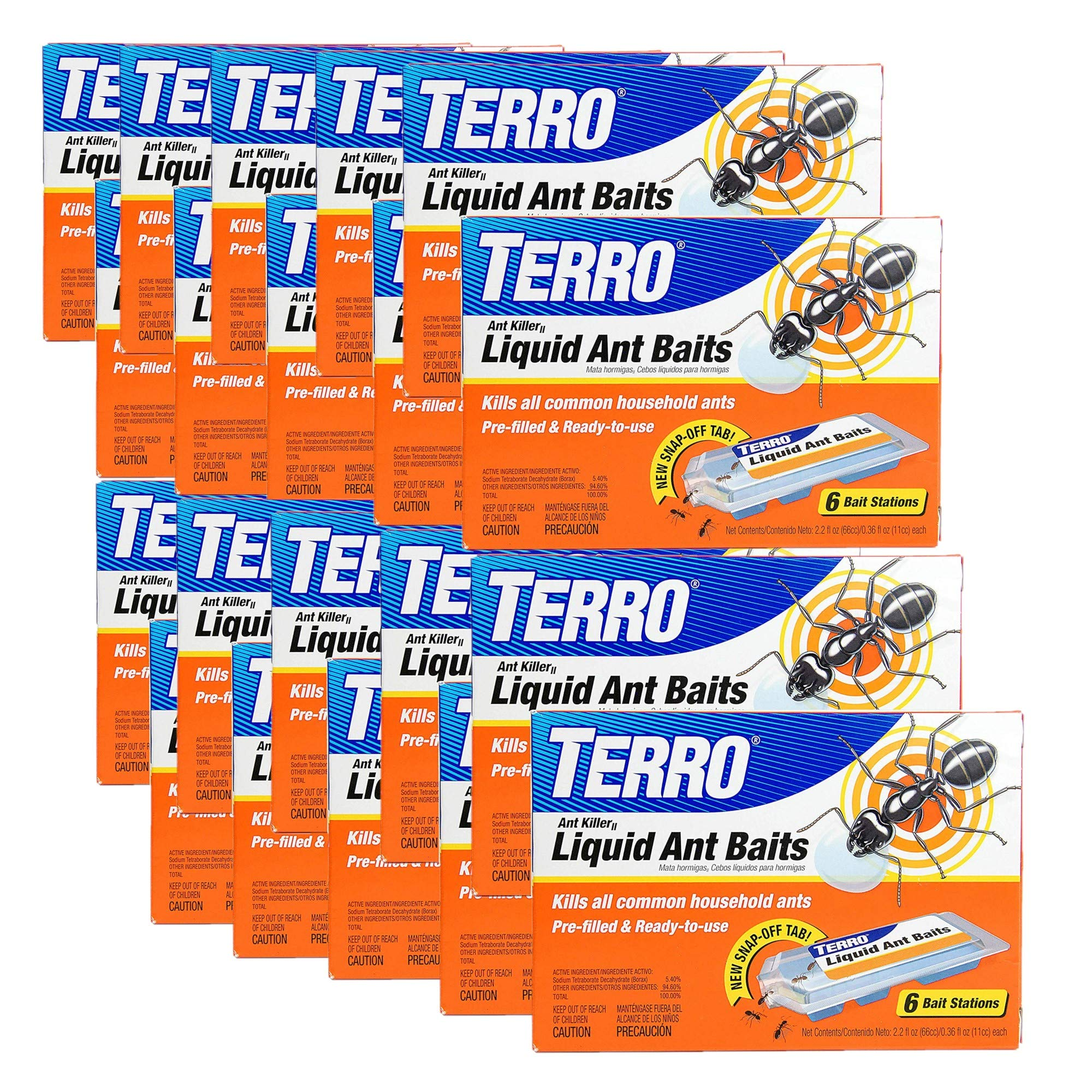 Terro T300B 16-Pack Liquid Ant Baits by Terro