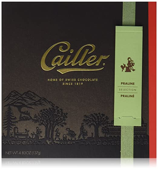 Amazon.com: CAILLER Chocolate Selection Assortment Box, Praline, 4.8 Ounce: Prime Pantry