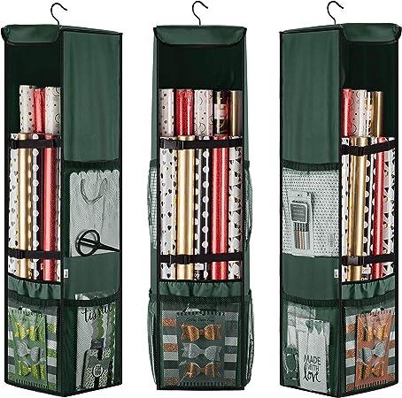 Kitchen /& Home Gift Wrap Organizer