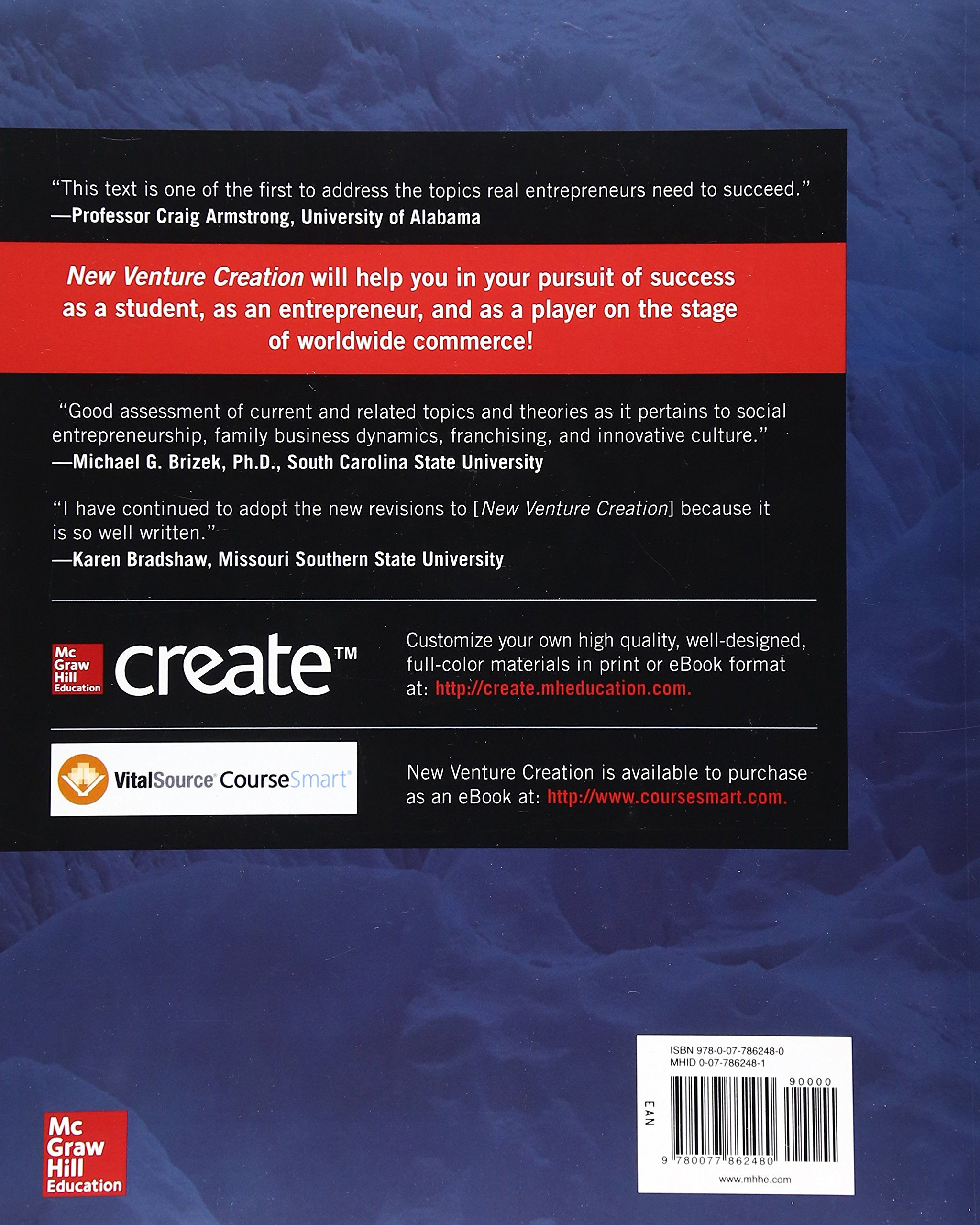 New Venture Creation: Entrepreneurship for the 21st Century (Irwin Management) by McGraw-Hill Education