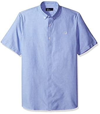 25a2ec98 Amazon.com: Fred Perry Classic Oxford Cotton Shirt Small: Clothing