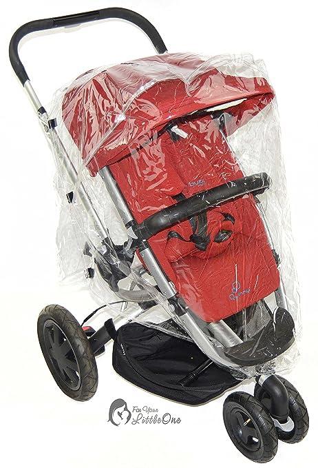 Protector de lluvia Compatible con paseo Quinny Buzz (142)