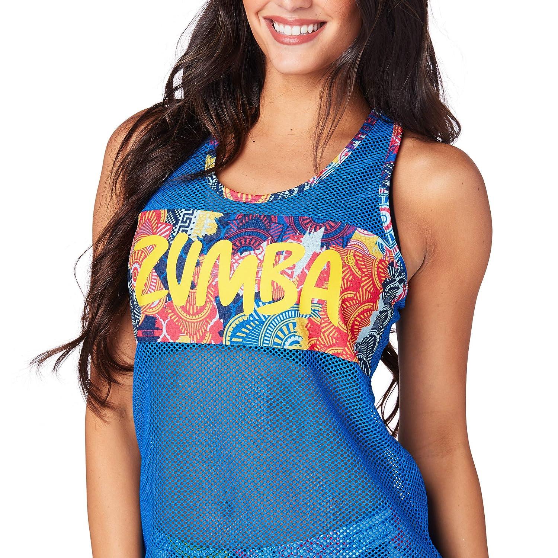 Zumba Women's Workout Breathable Mesh Tank Top