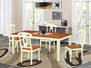 5 Pc Table set for 4-Kitchen dinette Table and 4 Kitchen Chairs