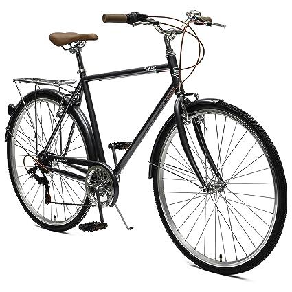 b8664b31ad6 Critical Cycles Beaumont-7 Seven Speed Men's Urban City Commuter Bike;  50cm, Graphite