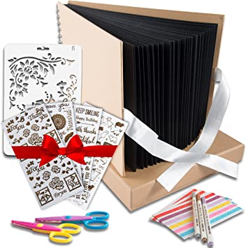 Amazon.com: Kit de álbum de fotos para manualidades, libro ...