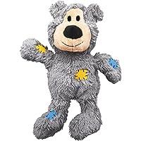 Kong NKR1E - Oso Chirriador de Peluche para perros,  Mediano/Grande, colores aleatorios