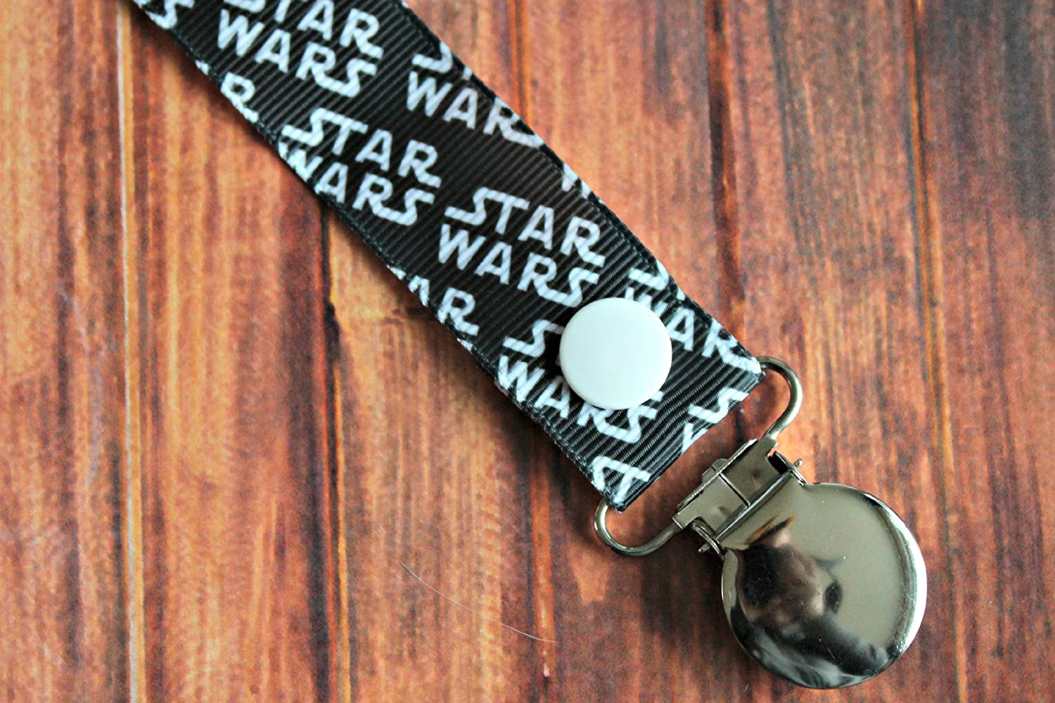 Star Wars Pacifier clip binky soother strap