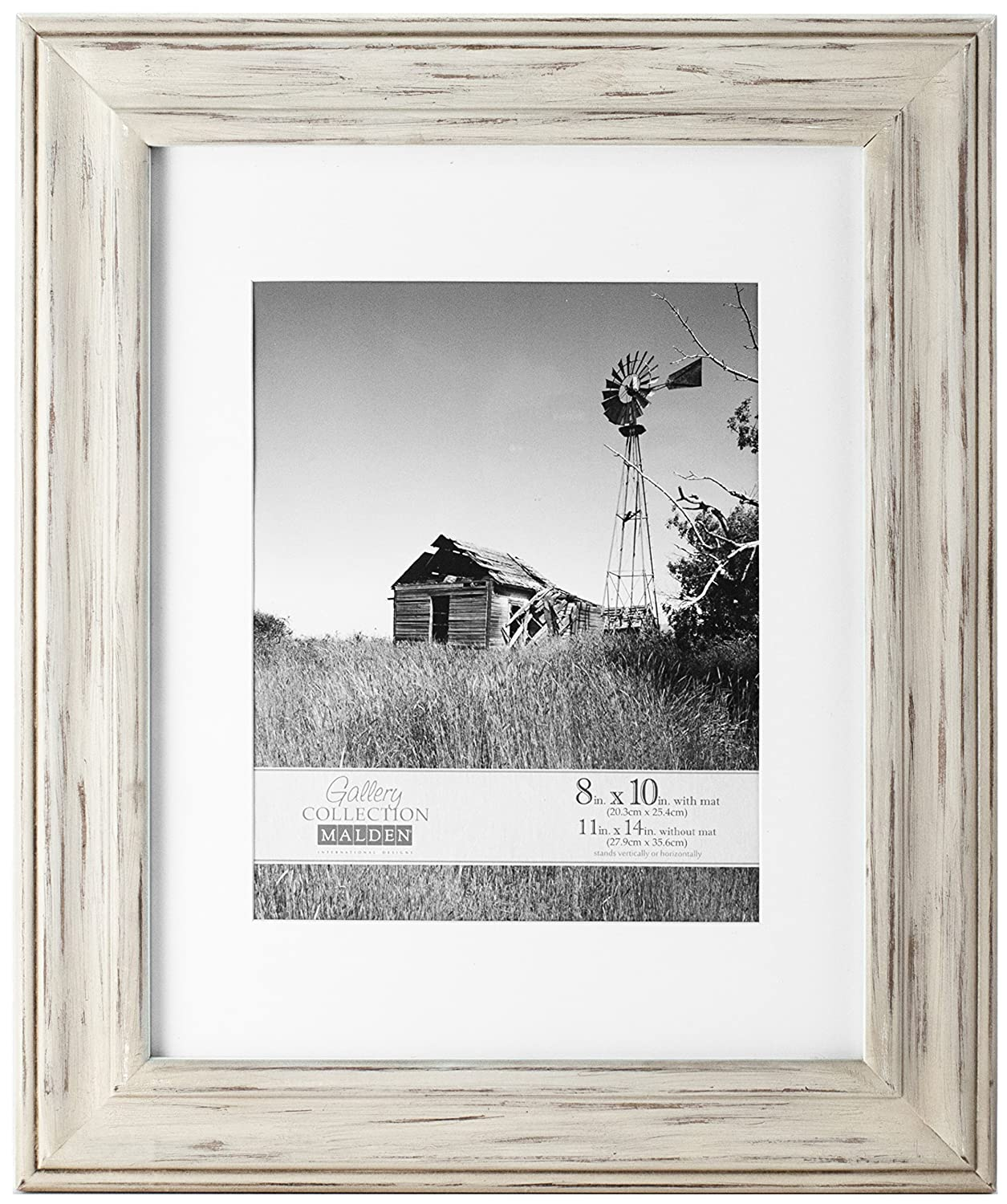 Amazon malden international designs whitman white wash amazon malden international designs whitman white wash matted wood picture frame 8x1011x14 white jeuxipadfo Gallery