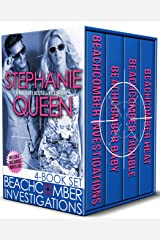 Beachcomber Investigations: 4 Book Set: a Romantic Detective Series Kindle Edition