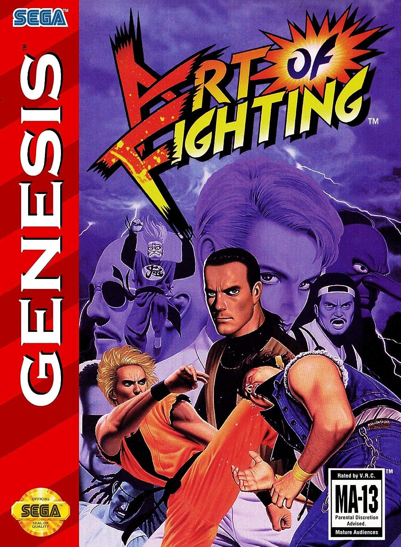 Amazon Com Art Of Fighting Sega Genesis Video Games