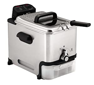 T-fal FR8000 Oil Filtration Ultimate EZ Clean Immersion Deep Fryer